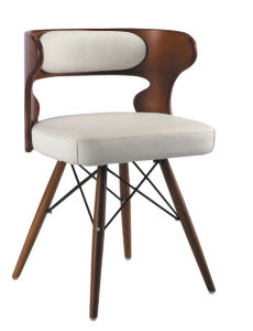 Modern New Design Wooden and Leather Leisure Eames Chair, Eames Stool (SZ-LCF152) pictures & photos