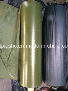 Olive Green PVC Film with Size From 0.06-0.5mm pictures & photos
