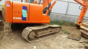Used Mini Excavator Hitachi Ex60 MIDI Excavator Ex60-2, Ex60-3 for Sale pictures & photos