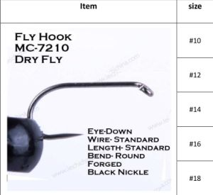 New Moderate Price Fly Fishing Tying Hooks pictures & photos