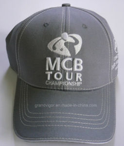 OEM Six Panels Cotton Golf Cap with Metal Buckle pictures & photos