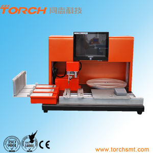 Desk Small Manual Pick and Place Machine SMD Mounter Tp38V pictures & photos