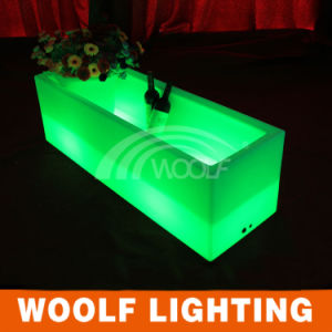 Bar Club Used LED Glow Wine Flower Bucket pictures & photos