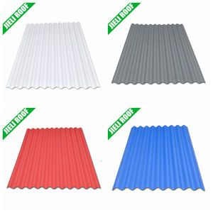 Economic PVC Plastic Roof Panel for Cheap House pictures & photos
