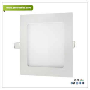 3W/6W/12W/18W Aluminum Square LED Panel with 3 Years Warranty