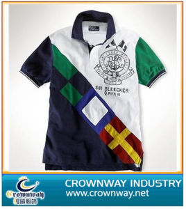 100% Cotton New Design Polyester Polo Shirt (CW-PS-32) pictures & photos