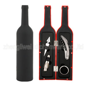 Bottle Shaped Wine Gift Set 608003-B pictures & photos