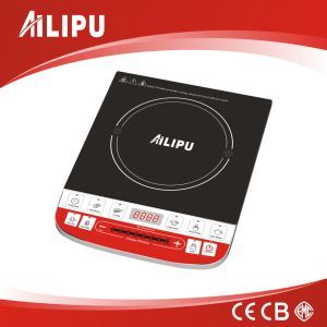 Ailipu 7 Level Inteligent Cooking Functon Induction Cooker, Induction Cooktop with Push Button Controll pictures & photos