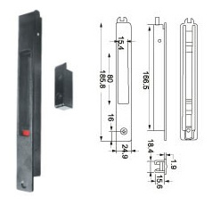 Window Lock (WL-26) for Aluminum Sliding Window pictures & photos