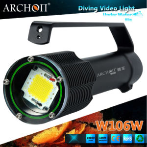 china archon w106w flashlight max 10000 lumens underwater photography light china diving torch. Black Bedroom Furniture Sets. Home Design Ideas