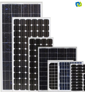 130W Renewable Energy Flexible Monocrystalline Photovoltaic Solar Panel pictures & photos