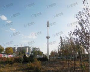 Butterfly Type Landscape Telecommunication Steel Tower