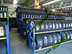 Foldable Truck Tyre Storage Rack pictures & photos