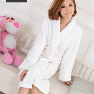 Cotton 100% Cut Pile Waffle Terry Cloth Bath Robe (BA-004) Manufacturer pictures & photos