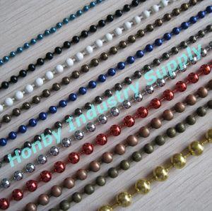 Wholesale Decorative Color Bulk Metal Ball Chain