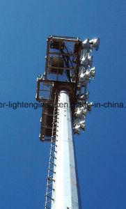 Stadium Square Light Support Monopole pictures & photos