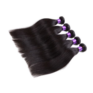 Aliexpress Brazilian Hair Weave Unprocessed Virgin Brazilian Hair Silky Straight Brazilian Human Hair Extension pictures & photos