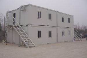 High Class Quality Prefabricated Container House/Camp/Tent pictures & photos