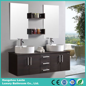 Morden European Double Sink Bathroom Vanity (LT-C001) pictures & photos