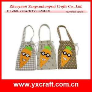 Easter Decoration (ZY16Y723-1-2-3) Easter Craft Cotton Bag pictures & photos