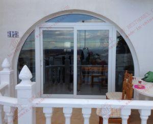 Andozied Surface Treatment Aluminium Sliding Patio Door (BHA-DSA04) pictures & photos