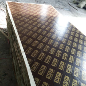 Brown Film Faced/Concrete/Shuttering Plywood pictures & photos