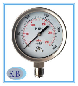 Capsule Pressure Gauge Stainless Steel pictures & photos