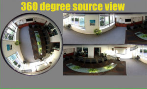 360 Degree Panoramic Security Camera with Fisheye Lens 720p 960p 1080P pictures & photos