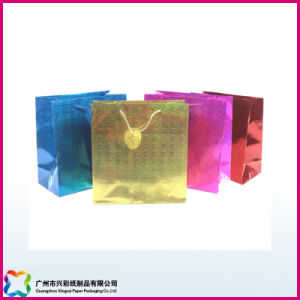 Shopping Bag Made of Hologram Paper (XC-5-007) pictures & photos