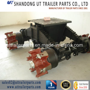 Spider Type Bogie Suspension/6 Spoke Bogie Suspension/Semi Trailer Bogie pictures & photos