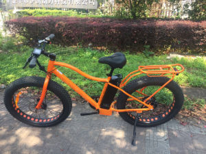 American Style 26inch Fat Tire Electric Mountain Bicycle Sport Bike 500W 48V pictures & photos