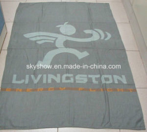 Fleece and Acrylic Airline Blanket (SSB0121) pictures & photos