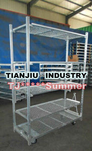 Portable Flower, Plant Heavy Duty Greenhouse Cart pictures & photos