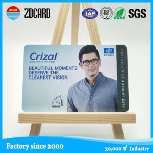 Custom Full Color Cr80 Size PVC Magnetic Card pictures & photos