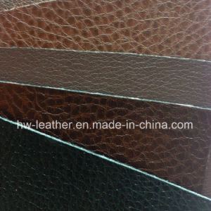 PU Synthetic Bonded Leather for Upholsery pictures & photos
