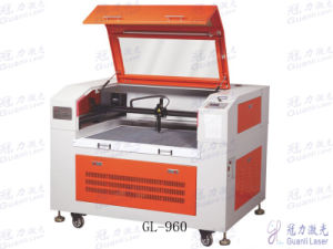 European Style Laser Cutting and Engraving Machine for Leather/Wool Fabric/Paper Ect