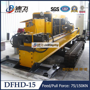 Underground Cable&Pipeline HDD Machine Dfhd-15 pictures & photos