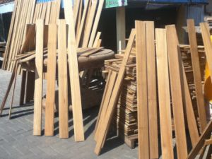 Teak Lumber Outdoor Wood Decking for Balcony pictures & photos