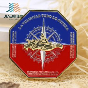Jiabo Antique Copper Professional Custom Metal Euro Coin with Box pictures & photos