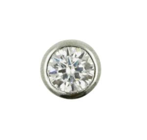 925 Silver Jewelry Simple Pendant One Stone Pendant pictures & photos
