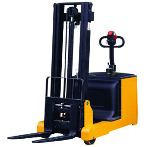 Counter Balance Weight Full Electric Forklift Truck Stacker pictures & photos