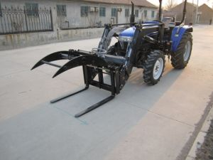 4WD Tractor with Front End Loader pictures & photos