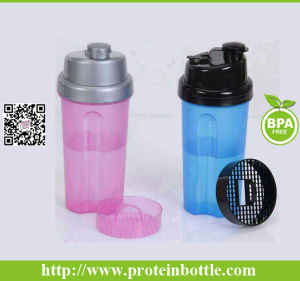 Plastic Salad Tumblers with Fork pictures & photos