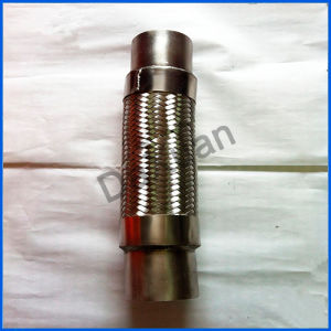 Good Quality Customized Top Supplier with Nuts Stainless 304 Flexible Metal Hose