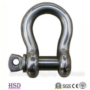 Electro-Galvanized European Bow Shackle of Wholesale Hardware Factory pictures & photos