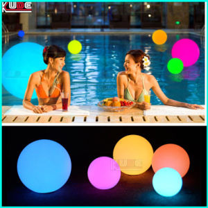 Illuminated Pyramid Floating Pebble Pool Decor Lights pictures & photos