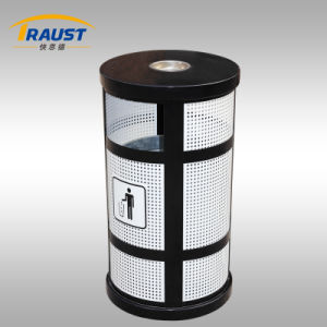 Europe Style Outdoor Metal Trash Bin (TSR-123) pictures & photos