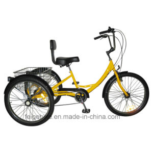 """20""""/24"""" USA Durable Cargo Tricycle Fat Tire Luggage Trike (FP-TRB-01) pictures & photos"""