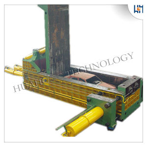 Hydraulic Waster Car Baler Machine pictures & photos