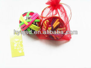 Hair Elastic Ponytail Holder, Terry Loops pictures & photos